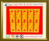 Доска PCB прототипа платы с печатным монтажом электроники для электронной контрольной панели
