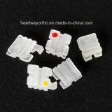 Corchetes de cerámica del corchete ortodóntico del producto de la alta calidad