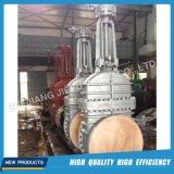 Soupape à vanne industrielle d'acier inoxydable avec la bride