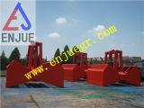 6-12m3電気油圧クラムシェルのグラブ