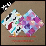 Носового платка печати 100% квадрат Silk изготовленный на заказ карманный для людей