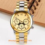 Reloj de los hombres elegantes de moda del cuarzo con la correa Fs575 del acero inoxidable