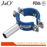 青い挿入が付いている衛生ステンレス鋼の管のホールダー