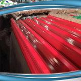 Feuille en acier de toiture de construction rapide colorée