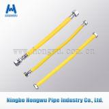 Los Ss flexibles acanalan el manguito del metal con la capa del PVC