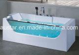 1700mm Rechthoek Corner Massage Bathtub SPA met Ce RoHS (bij-0713)