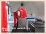 Ys-Bf230g Kiosk van het Snelle Voedsel van de Karren van het Voedsel van het Venster van het Glas de Glijdende Mobiele