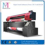 impressora de linho de matéria têxtil da tela de 1.8m com impressão de tinta reativa