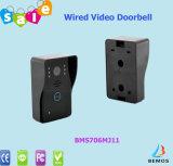 A porta prendida relativa à promoção super do interfone de vídeo de cor telefona à porta Bell