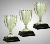 Troféu barato da prata de 6.7 polegadas para o competiam e o campeonato