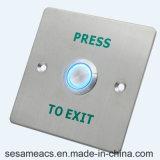 Appuyer le type prise de masse acrylique de plastique aucun bouton de sortie monté par surface de COM d'OR (SB40PB)