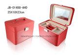 Caja de joyería de cuero PU famoso y profesional Manufactura
