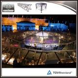 Fascio di alluminio di illuminazione del fascio della fase di eventi esterni con il baldacchino del tetto