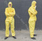 Yellow&Green PE 박판 전반적인 화학 Pretective를 위한 짠것이 아닌 직물 80~90g 사용