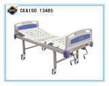 (A-97) Cama de hospital manual Double-Function movible con la pista de la base del ABS
