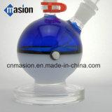 Pokemanデザインガラス製品の煙る配水管(BY008)