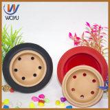 Accessoires de narguilé de cuvette de charbon de bois de Shisha de silicones de cuvette de carbone d'argile