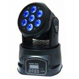 7X15W 6in1 RGBWA+UV小さい移動ヘッドライトFo DJの照明