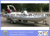 Barco de pesca com costela de fibra de porco quente, Boat Mortor