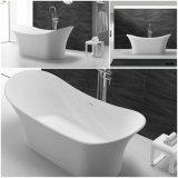Luxushotel-Badezimmer-Stein-freistehende Badewanne für Massage (BT1612138)