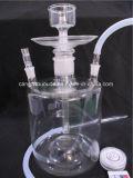 De volledige Vastgestelde Waterpijp van Shisha van het Glas voor het Roken