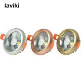 Vertieftes Dimmable PFEILER LED Punkt-Licht 3W-12W