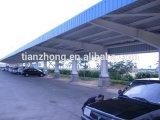Estructura de acero para las plataformas del estacionamiento del coche