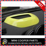 Couverture à lecture tête haute d'écran de couleur jaune pour Mini Cooper toute la série (1PC/Set)