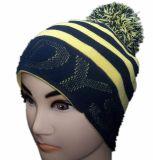 Chapeau personnalisé de Beanie tricoté parhiver avec le Spandex (1-2256/57/58)
