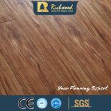 12.3mm V Groove Vinilo E0 CA4 HDF parquet laminado Laminado madera Parquet