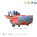 головка цилиндра 6HK1 8-97602-687-0 для частей двигателя дизеля тележки