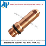Electrode 220937 torche de coupage plasma Consommables pour Maxpro 200