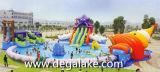 Parque inflável da água do polvo do Aqua para o divertimento personalizado