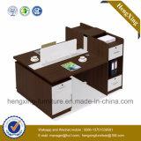 Moderner Entwurfs-Arbeitsplätze MDF-hölzerne Büro-Möbel (HX-NCD357A)