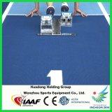rodillo de goma del suelo de 13m m, estera de la corrida de los deportes, pista corriente sintetizada prefabricada