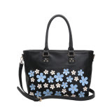 Flower Appliques Leisure Fashion Handbag for Women (MBNO042117)