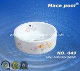 Dissipador de lavagem da mão cerâmica quente da bacia da arte do banheiro da venda (049)