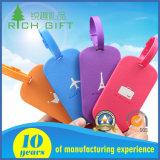 Tag macio personalizado da bagagem da forma Rubber/PVC para presentes da promoção do curso