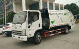 FAW 쓰레기 트럭 5 톤 패물 컴퓨레스 5 Cbm 쓰레기 압축 분쇄기