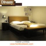 Кровать самой последней задней части максимума деревянная двойная
