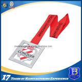 Медаль металла футбола сплава цинка выдвиженческое (ele-medal105)