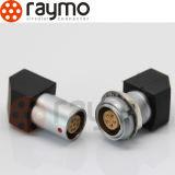 Raymo Fgg Egg 0b 2 Pin Circular Push Pull Painel Soquete / Conector