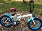 Venta caliente plegable la bici eléctrica con el superventas del neumático gordo 4.0inch de plegable Ebike con alta calidad