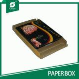Premier cadre de papier ondulé de conditionnement de la viande de repli avec le guichet