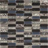 Mattonelle della parete del mosaico di striscia del materiale da costruzione, mattonelle di vetro di mosaico