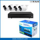 CCTV HVR/DVR del control remoto de 4CH 720p P2p