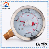 Instrument de pression d'air en gros usine Made in China Gauge Boiler Pressure