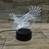 Mestiere creativo del regalo acrilico domestico della decorazione LED