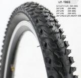 Preiswerter schwarzer Fahrrad-Gummireifen-Fahrrad-Reifen 24*2.125