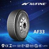 低価格のトラック385/65r22.5のタイヤのためのAufineのタイヤ